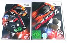 "Nintendo wii jeu ""Need for speed hot pursuit"" complet"