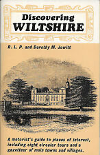DISCOVERING WILTSHIRE by Jowitt & Jowitt A Shire Paperback 1st. Edition 1973