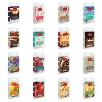 Candle Warmers Scented Fragrance Wax Melts  2.5 Oz Pack With 6 Cubes Your Choice