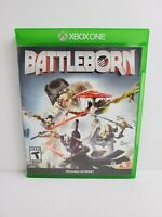Battleborn Microsoft Xbox One 2016 Completed with Manual Tested Works