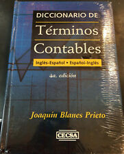 Diccionario de Terminos Contables Ingles Español  / Spanish English Hardcover