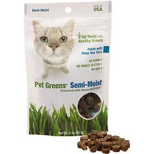 Pet Greens Deep Sea Tuna Semi-Moist Cat Treats, 3-oz bag Free Shipping