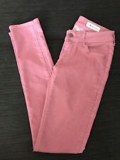 H & M Pink Stretchy Skinny Jeans Size 27