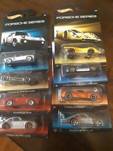 Hot Wheels *Walmart Exclusive* PORSCHE SERIES* 2014* complete set