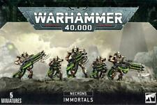 WARHAMMER 40K 40,000 NECRONS IMMORTALS FACTORY SEALED NEW