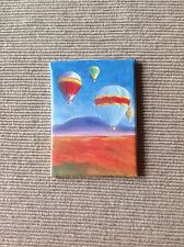 "American Girl canvas painting art picture saige 18"" doll house hot air balloon"