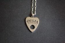 Tono argento Ouija Board PANCHETTE Collana Vintage Kitsch