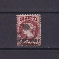 ST. HELENA 1876, SG# 21, Wmk Crown CC, Perf 14*12.5, Used
