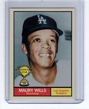 Maury Wills '59 Los Angeles Dodgers Rookie Stars series #9 by Monarch Corona