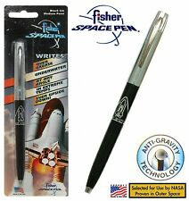 Fisher Space Pen #S294 Apollo Series Chrome & Black with Shuttle