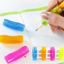 4Pcs Pen Pencil Control Handwriting Aid Right Left Handed Grip For Kids X4B6