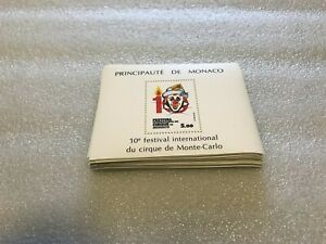 # 100X MONACO 1984 - MNH - CIRCUS - ART - WHOLESALE