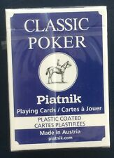 Classic Poker Playing Cards, Piatnik, Austria, new, sealed, 55 cards