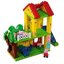 BIG BLOXX Peppa Pig Spielplatz Spielhaus spielen Gartenhaus Baumhaus