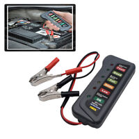 Coche/Van/Moto Batería Celular carga caída tester/testing 6V-12V