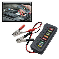 Car/Van/Motorcycle Battery Cell Load Drop Tester/Testing/Diagnostic - 6/12V