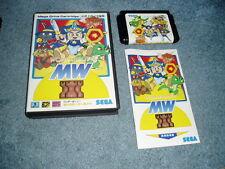 Wonder Boy V 5 Monster World ~ Japanese Sega Mega Drive Genesis Complete