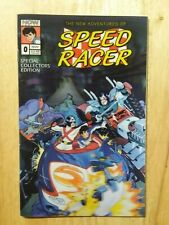 The New Adventures Of Speed Racer #0 1993  3D Cover NM