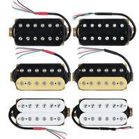 FLEOR Electric Guitar Humbucker Pickup Neck & Bridge Pickup Set Ceramic Magnet