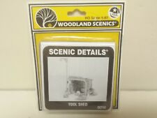Tool Shed Model Railroad Building kit Woodland Scenics D216 Mini-Scene