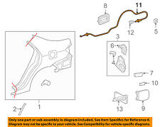 TOYOTA OEM 09-13 Corolla Quarter Panel-Release Cable 7703502250