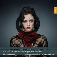 ARIE E CANTATE PER CONTRALTO - DELPHINE GALOU/+ CD NEW+ VIVALDI,ANTONIO