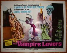 The Vampire Lovers-Horror-Hammer-R.W.Baker-Ingrid Pitt-Half sheet (22x28 inch)