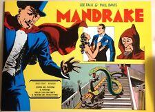 MANDRAKE di L. Falk & P. Davies Daily Strips 1935/36 Comic Art Ottimo