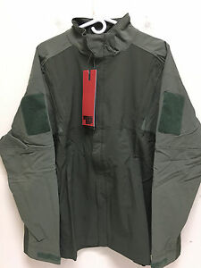 MASSIF INTEGRATED TACTICAL JACKET WATER RESISTANT BLACK & OD GREEN MENS NEW