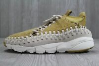38 Nike Air Footscape Woven Chukka Gold Orewood Men's Shoes Size 10  913929 700
