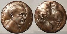 Vaticano medaglia  papa Paolo VI anno V