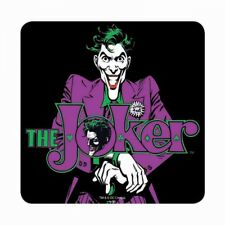 RETRO DC COMICS BATMAN THE JOKER TABLE DRINKS COASTER MAT