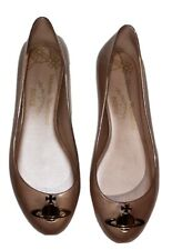 Vivienne Westwood x Melissa Anglomania Space Love Orb Ballet Flat Pink Size 8