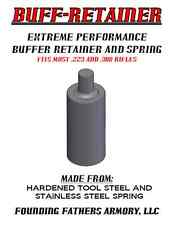 EXTREME PERFORMANCE AR BUFFER RETAINER AND SPRING, TOOL-STEEL, MADE IN USA