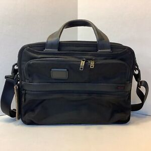 Tumi Alpha 3 Small Screen Expandable Laptop Briefcase Bag