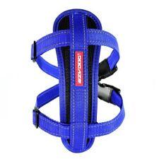 EzyDog Chest Plate Harness Dog 10 Colours 5 Sizes Comfort Car Restraint M Blue