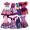 7 Stk Puppen Kleid Beiläufige Kleidung Set Für Monster Schule Kinder Puppe