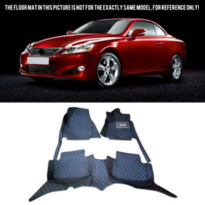 For Lexus IS XE20 2005-2015 Leather Car Interior Front & Rear Floor Mats Full