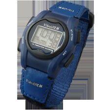 VibraLITE 12 MINI - Velcro Blue Band - Vibrating Reminder Watch - TTW-VM-VBL