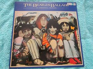 THE BEATLES....BALLADS..VINYL LP  -VG+ COND--  1980 *RARE* TM8010 GL
