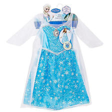 "Disney Frozen Elsa Light-up Musical Dress Costume Let It Go"" ""One sz 4-6X', 3+"