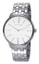 Pierre Cardin Men's 42mm Silver Steel Bracelet & Case Quartz Watch PC106991F06
