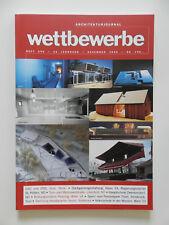 Wettbewerbe Architekturjournal Architektur Zeitschrift Heft 200 Dezember 2000
