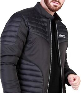 Sparco Bloomington Black Jacket