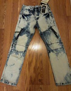 Encrypted Size 8 Boys Denim Jeans Slim Fit NWT
