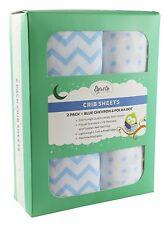 Crib Sheet Set   Toddler Sheet Set 2 Pack 100% Jersey Cotton for Baby Boy...
