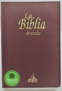 BIBLIA CATOLICA DIOS HABLA HOY DE ESTUDIO VINIL VINO