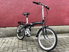 "Prophete Alu Bike Fahrrad Klapprad Klappfahrrad 20"" Faltrad 7 Gang Schwarz 24k"