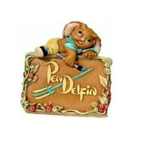 PenDelfin Rabbit Figurine - Golden Jubilee - Free Usa Shipping Brand New