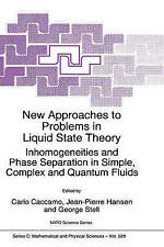 New Approaches to Problems in Liquid State Theory: Inhomogeneities and Phase Sep